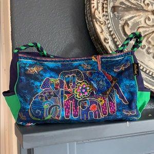 NWT Laurel Burch Canine Family Medium Hobo Bag -
